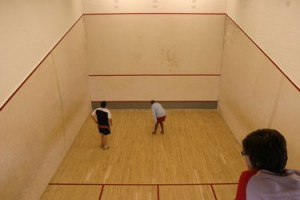 Our squash courts