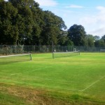 The grass courts 1 & 2 Sept 2011