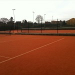 Artificial clay courts 6 & 7
