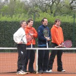 Greg Rusedski visits club