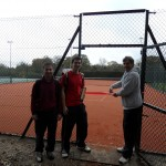 Stealthily cutting the ribbon on new Court 3