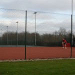 Paul Cowie was first to use new court 3
