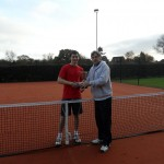 Paul Cowie wins Men's club tournament 2011