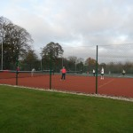 New court 3 in use for the first time